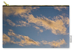 Carry-all Pouch featuring the photograph Wind Driven Clouds by Mick Anderson