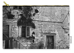 Carry-all Pouch featuring the photograph Crumbling In Croatia by Andy Prendy