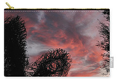 Windswept Clouds Carry-all Pouch