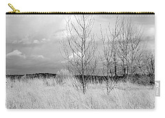 Carry-all Pouch featuring the photograph Winter Bare by Kathleen Grace