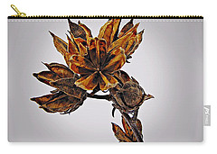 Winter Dormant Rose Of Sharon Carry-all Pouch