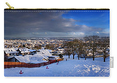 Carry-all Pouch featuring the photograph Winter In Inverness by Joe Macrae