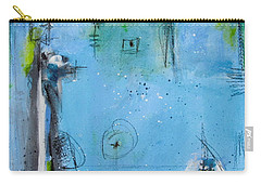 Winter Carry-all Pouch by Nicole Nadeau