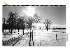 Winter Shadows Carry-all Pouch by Leanna Lomanski