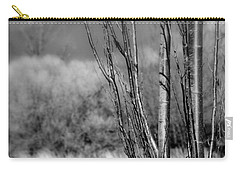Carry-all Pouch featuring the photograph Winters Branch by Kathleen Grace