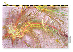 Carry-all Pouch featuring the digital art Wispy Willow by Kim Sy Ok