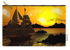 Wooden Ships Carry-all Pouch