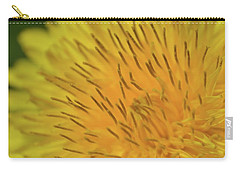 Carry-all Pouch featuring the photograph Yellow Beauty by JD Grimes