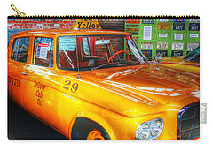 Yellow Cab No.29 Carry-all Pouch by Dan Stone