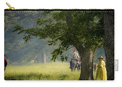 Yellow Dress Carry-all Pouch