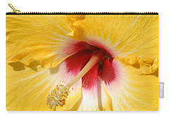 Carry-all Pouch featuring the photograph Yellow Fellow by Cindy Manero