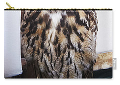 Yellow Owl Eyes Carry-all Pouch