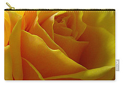 Yellow Rose Of Texas Carry-all Pouch by Sandra Phryce-Jones