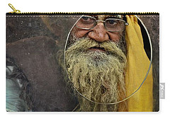 Yellow Turban At The Window Carry-all Pouch