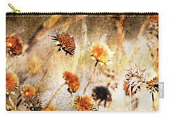 Yesterday's Flowers Carry-all Pouch by Alyce Taylor