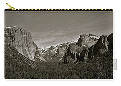 Carry-all Pouch featuring the photograph Yosemite Valley by Eric Tressler