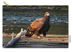 Young And Wise Carry-all Pouch by Cheryl Baxter