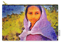 Young Moroccan Girl Carry-all Pouch