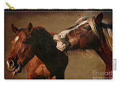 Carry-all Pouch featuring the photograph You're Too Funny by Davandra Cribbie