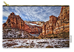 Zion Canyon In Utah Carry-all Pouch