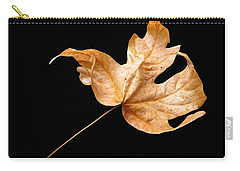 Carry-all Pouch featuring the photograph . . Autumn Dance. . by I'ina Van Lawick
