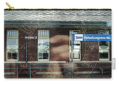 Carry-all Pouch featuring the digital art . . Capturing Time . . by I'ina Van Lawick