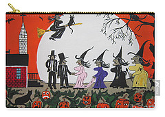 A Halloween Wedding Carry-all Pouch by Jeffrey Koss