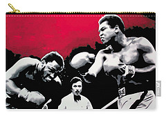 - Ali Vs Fraser - Carry-all Pouch by Luis Ludzska