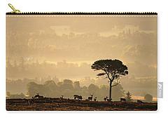 Carry-all Pouch featuring the photograph  Autumn Morning, Strathglass by Gavin Macrae