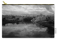 Boyne River Carry-all Pouch by Martina Fagan