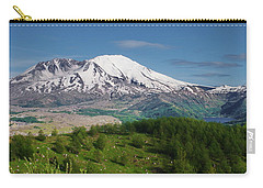 Castle Lake And Mt. St. Helens Carry-all Pouch