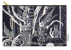 Cat On Dresser Carry-all Pouch