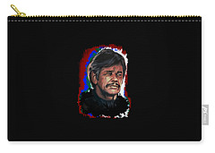 Carry-all Pouch featuring the painting  Charles by Andrzej Szczerski