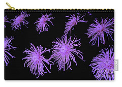 Chrysanthemums In Purple Carry-all Pouch