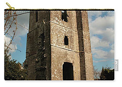 Church In Duleek. Carry-all Pouch by Martina Fagan