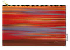 Carry-all Pouch featuring the digital art  Evening In Ottawa Valley by Rabi Khan