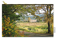 Fall At Grays River Covered Bridge Carry-all Pouch