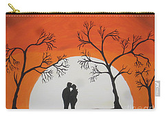 First Kiss Carry-all Pouch by Jeffrey Koss