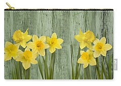 Fresh Spring Daffodils Carry-all Pouch