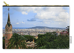 Gaudi's Home Park Guell Carry-all Pouch by Amy Williams