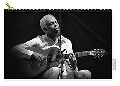 Gilberto Gil   Black And White Carry-all Pouch