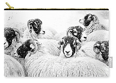 In Winters Grip Carry-all Pouch by Janet Burdon