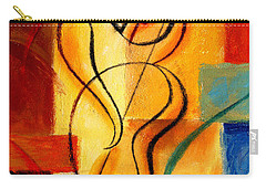Jazz Fusion Carry-all Pouch by Leon Zernitsky