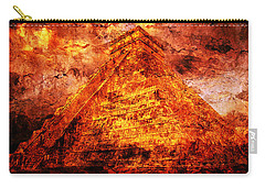 C H I C H E N  .  I T Z A .  Pyramid Carry-all Pouch