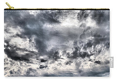 Carry-all Pouch featuring the photograph  Mental Seaview by Jouko Lehto