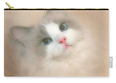 Misty Blue Carry-all Pouch by David and Carol Kelly