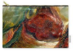 Mountains Fire Carry-all Pouch by Henryk Gorecki