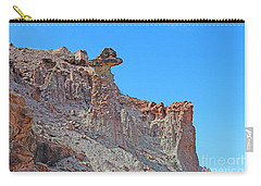 Multihued Conglomerate Rock Formation Colorado  Carry-all Pouch