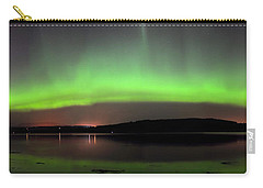 Carry-all Pouch featuring the photograph   Northern Lights by Macrae Images