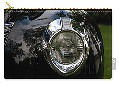 Carry-all Pouch featuring the photograph  One Eye 13128 by Guy Whiteley